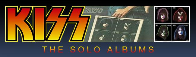 KISS solo albums header