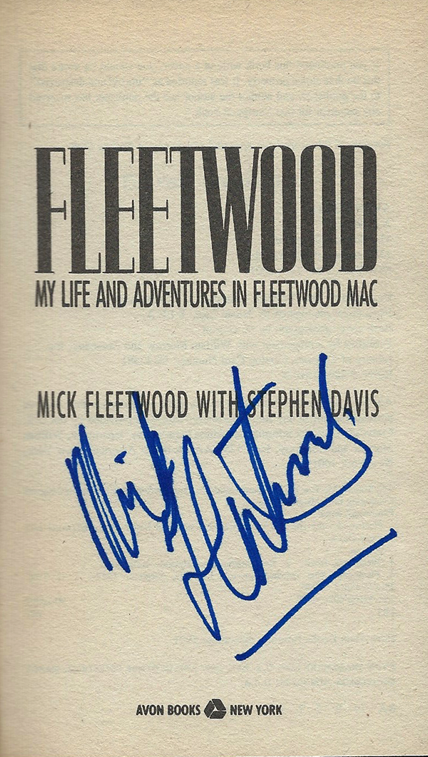 Mick Fleetwood Book - My Life and Adventures #2b