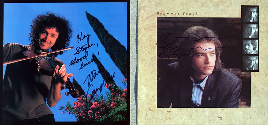 Mike Campbell and Benmont Tench - Tour Books