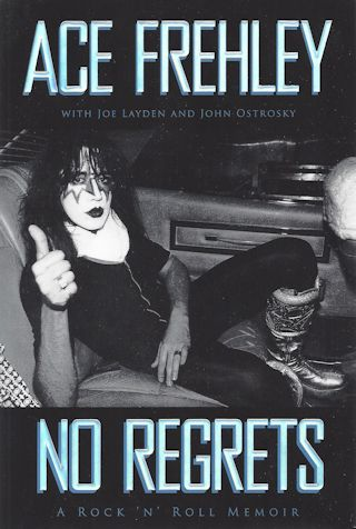 Ace Frehley Book - No Regrets #1a