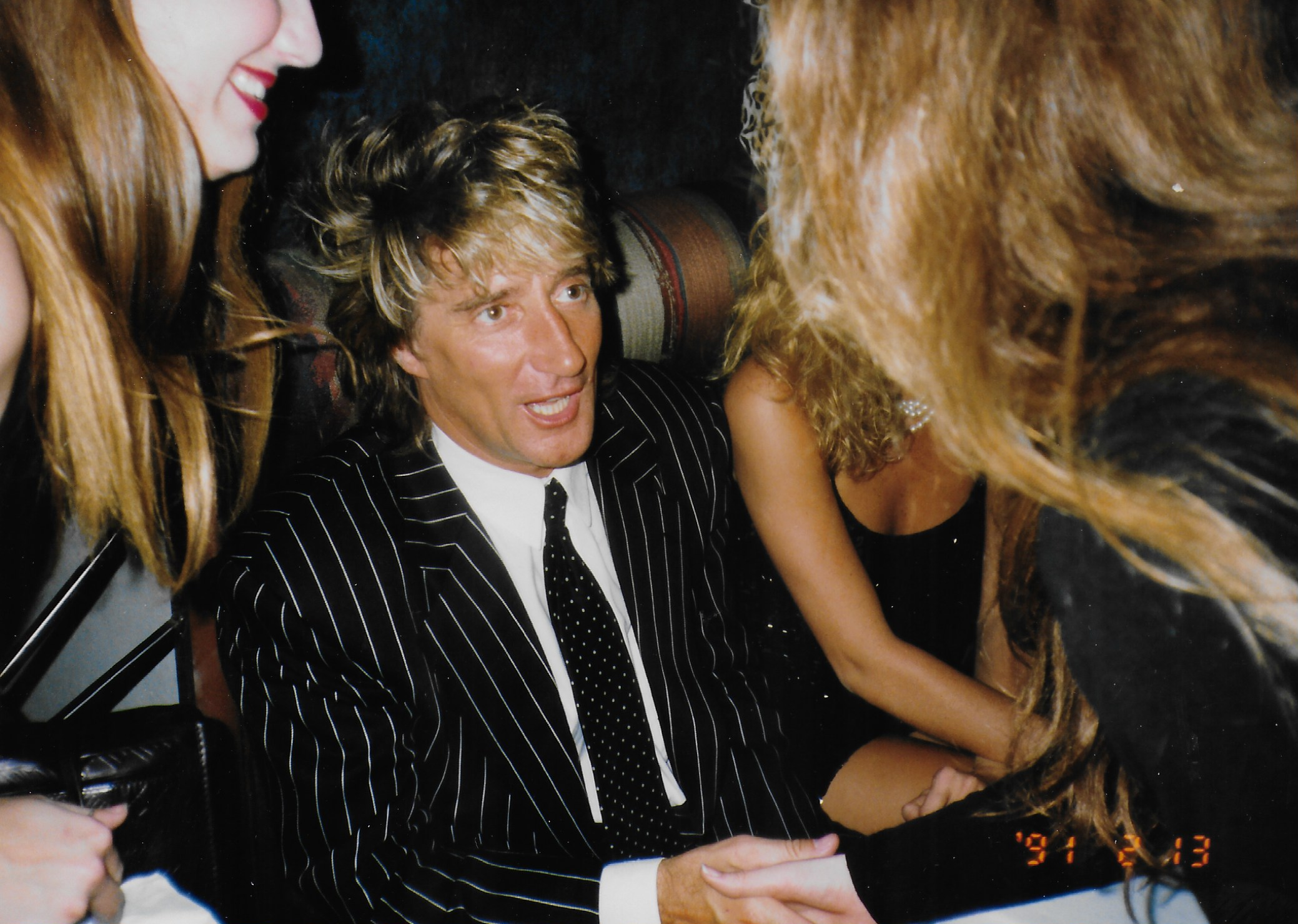 Stephen Duncan and Rod Stewart