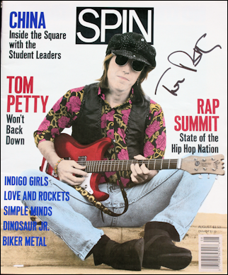 Tom Petty - Spin Magazine