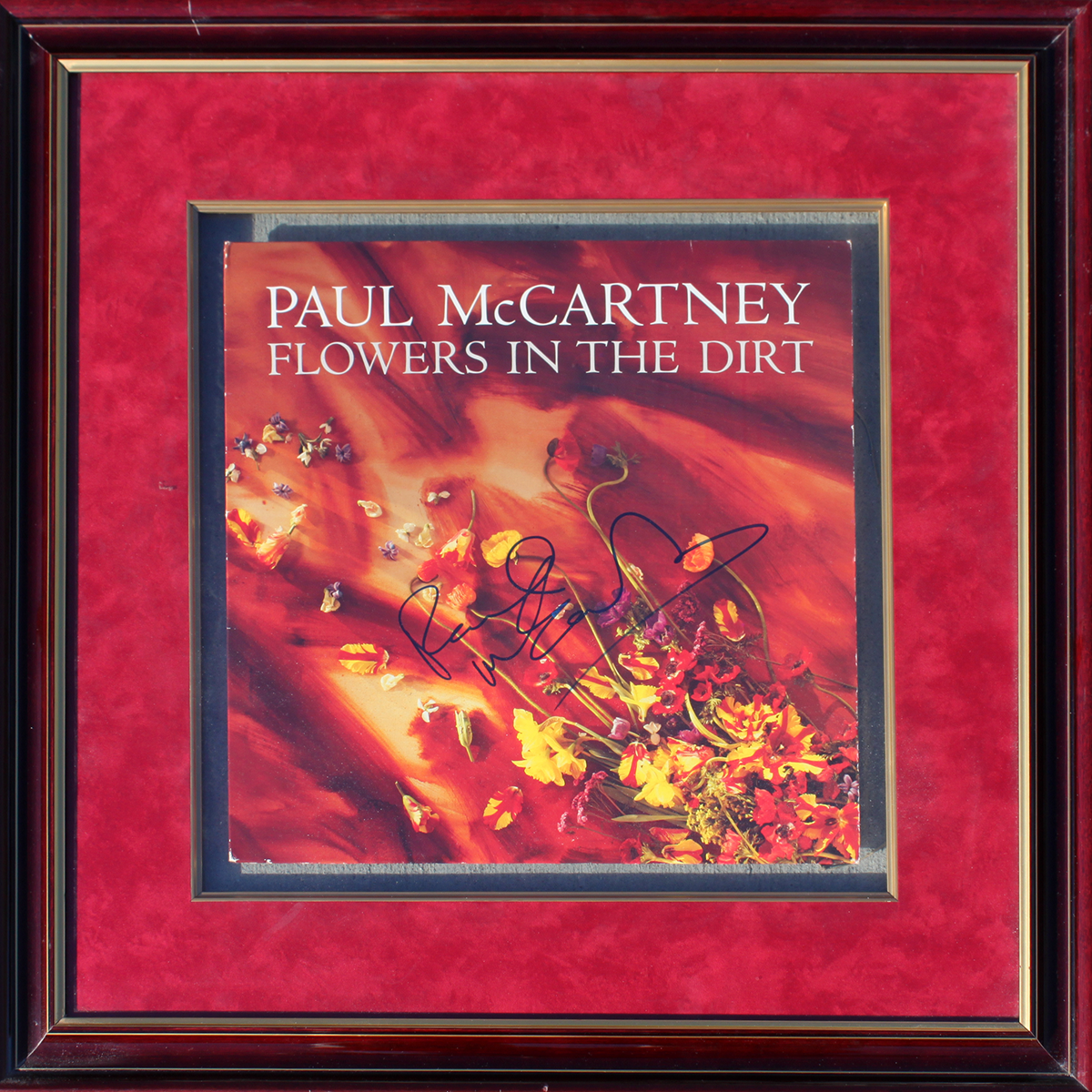 Framed LP - Paul McCartney - Flowers In The Dirt #1