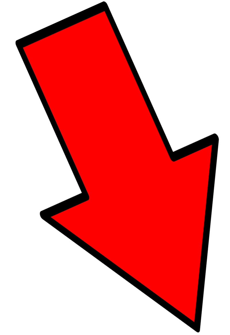 Red Arrow - Down Right