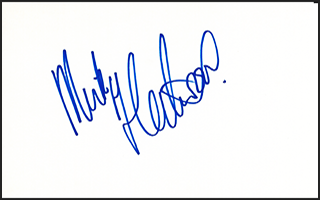 Mick Fleetwood Signed Index Card #4