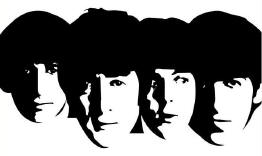 The Beatles - B&W Faces