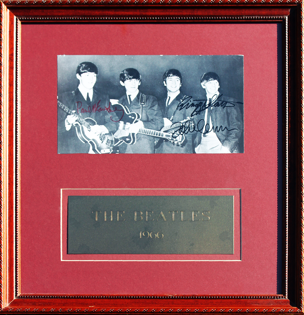Framed Photo - The Beatles