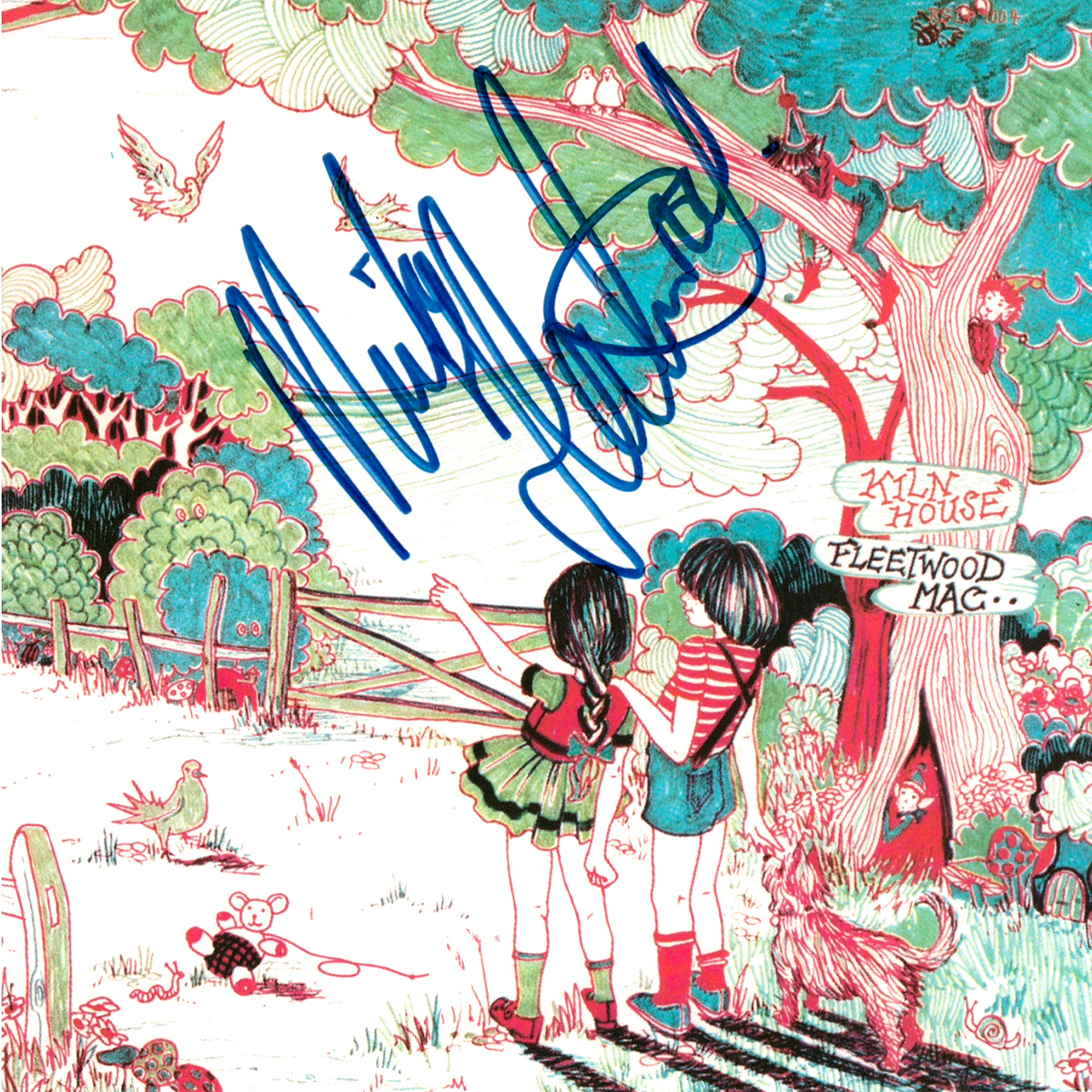 CD Cover - Fleetwood Mac - KIln House