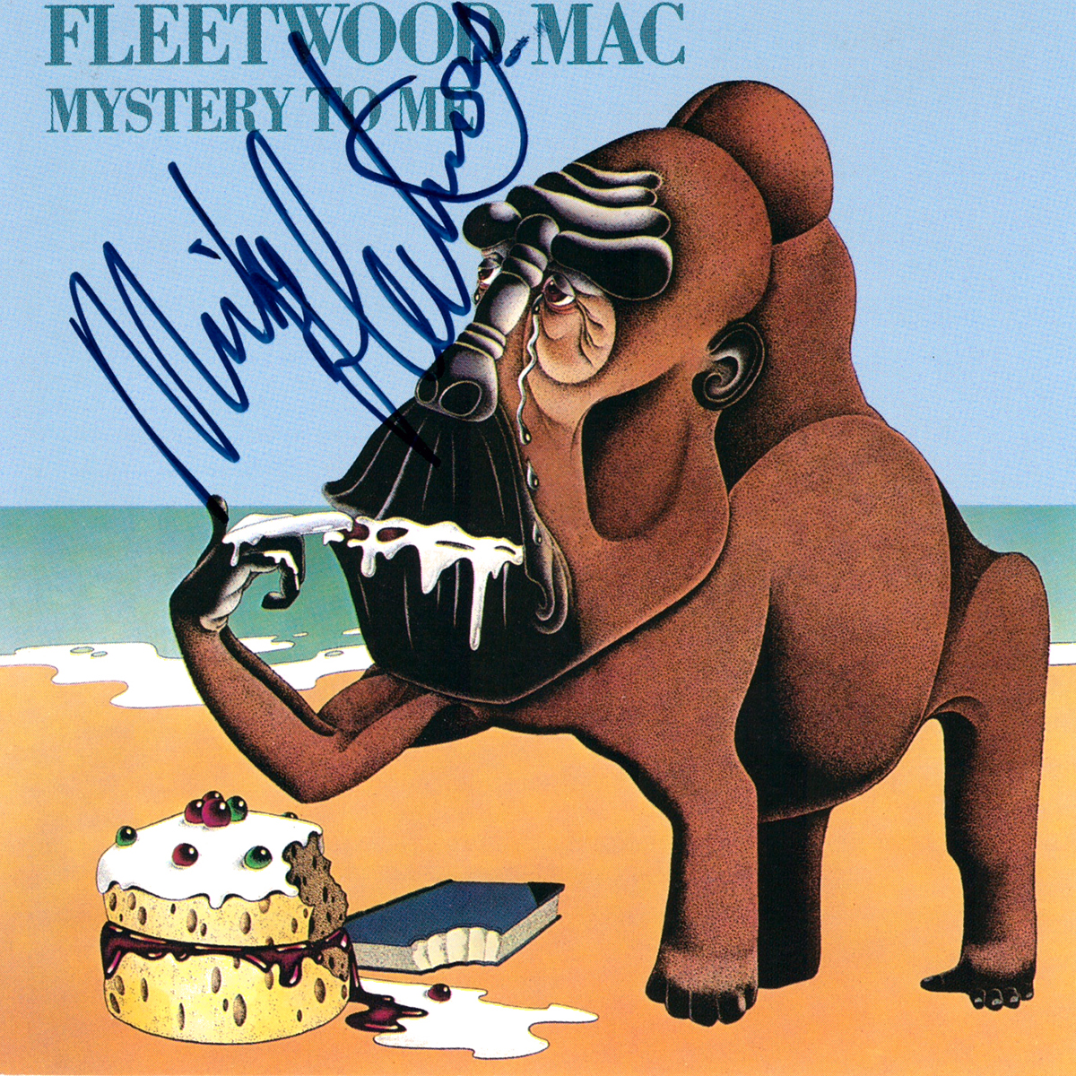 CD Cover - Fleetwood Mac - Mystery To Me