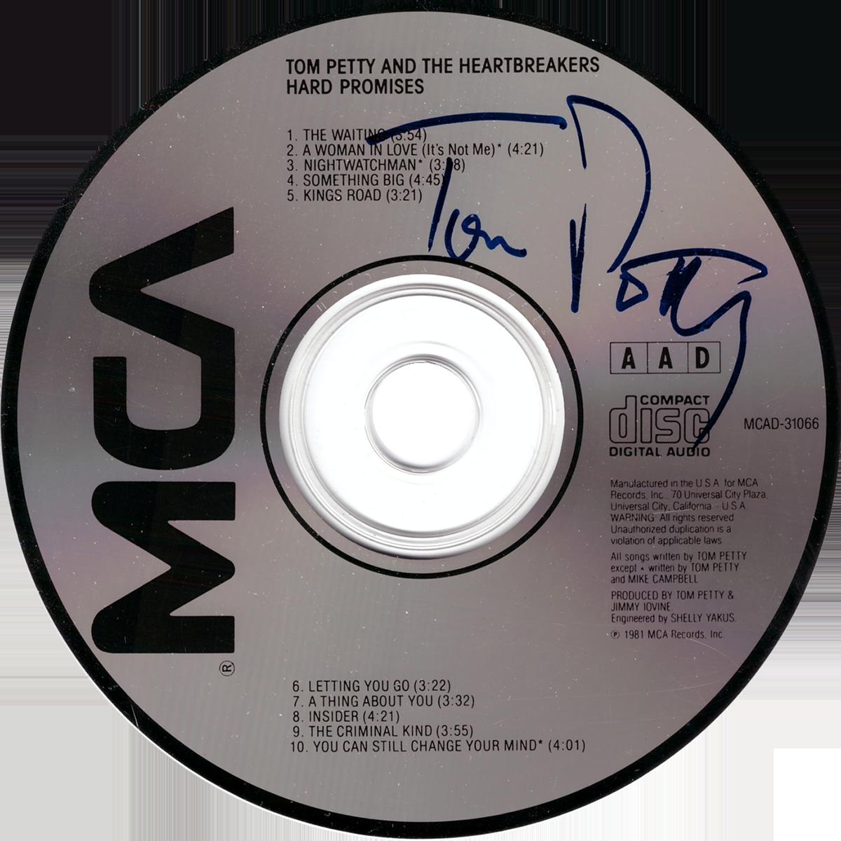 Tom Petty CD - Hard Promises
