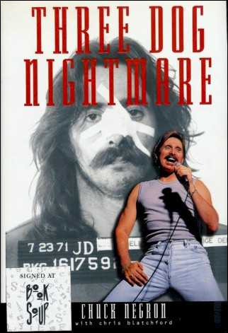 Chuck Negron Book - 3 Dog Nightmare #1a