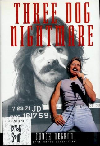 Chuck Negron Book - 3 Dog Nightmare #1a