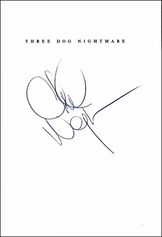Chuck Negron Book - 3 Dog Nightmare #1b