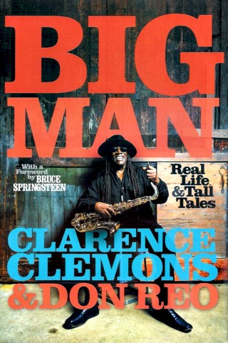Clarence Clemmons Book - Big Man #1a