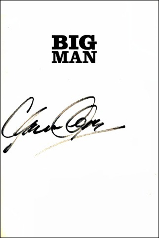 Clarence Clemmons Book - Big Man #1b