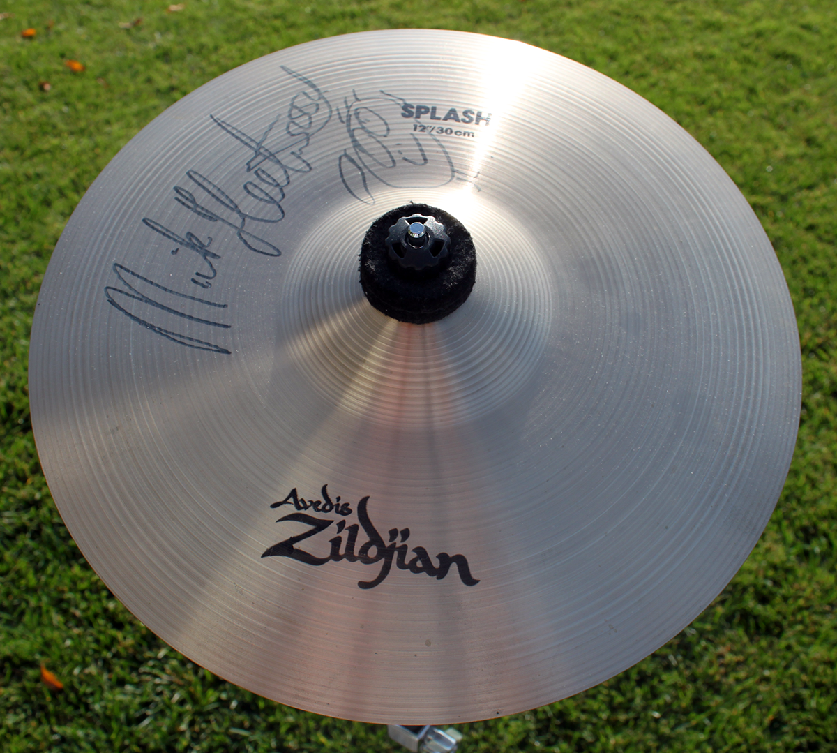 Mick Fleetwood Signed Cymbal
