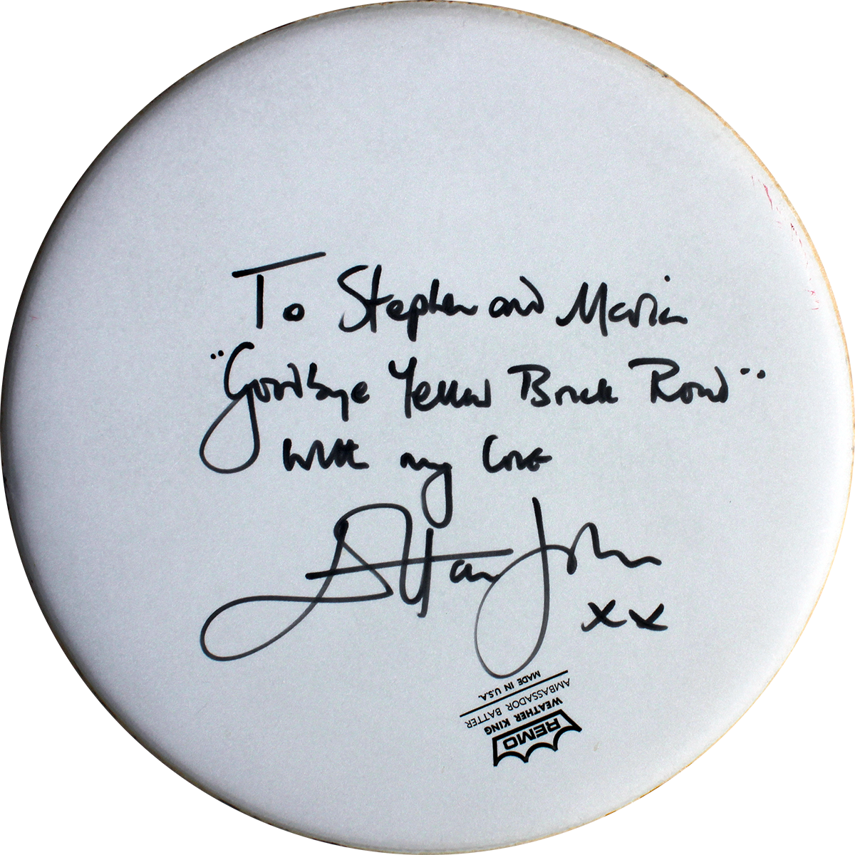 Elton John - Drumhead