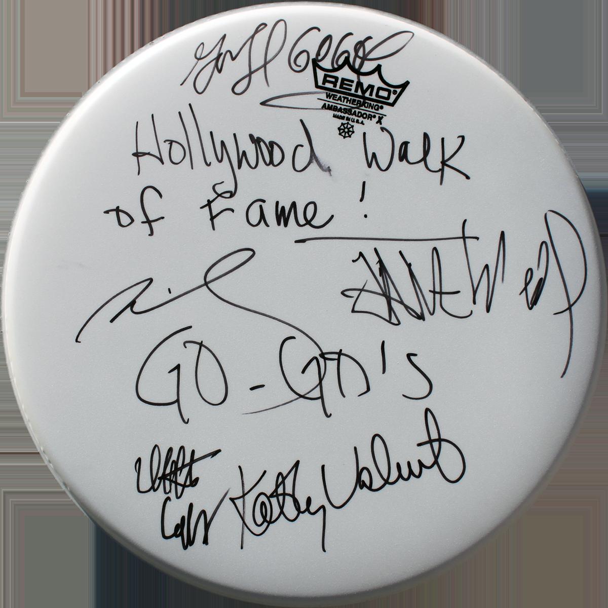 Drumhead - Go-Go's