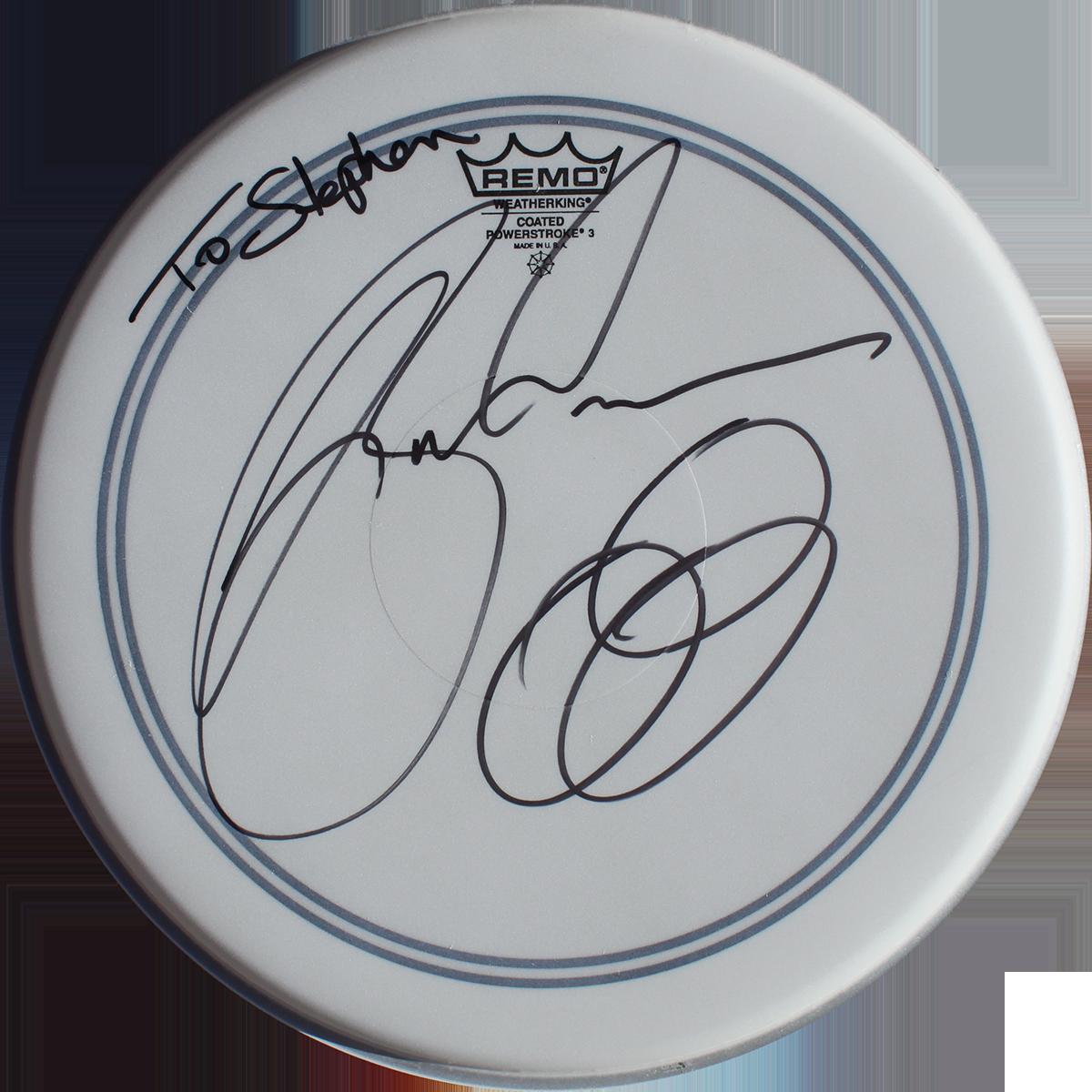 Jason Bonham - Drumhead #1