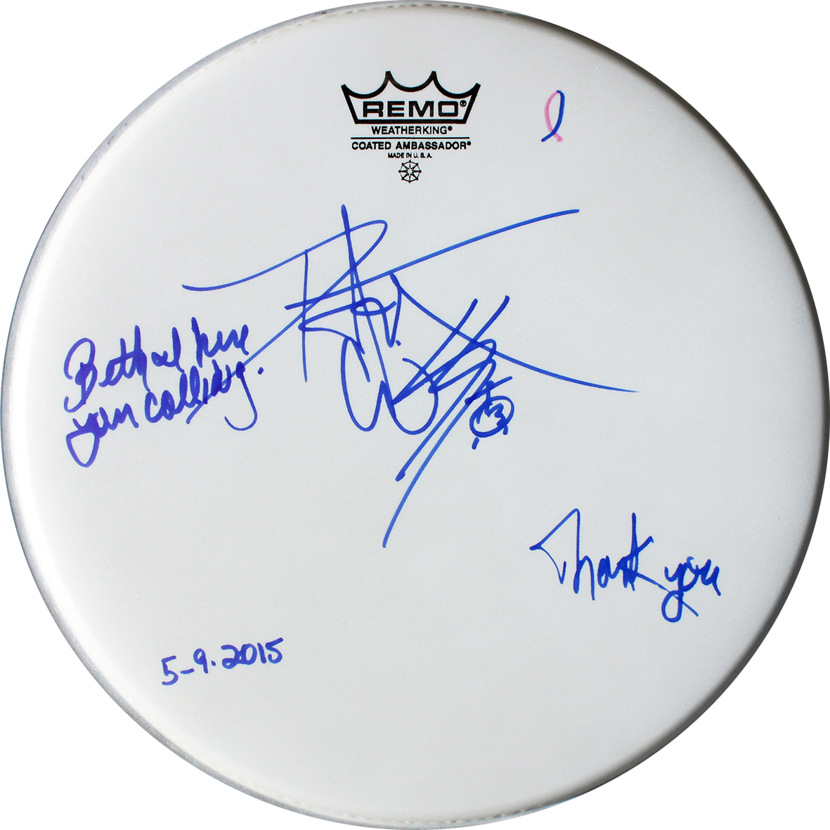 Drumhead - Peter Criss