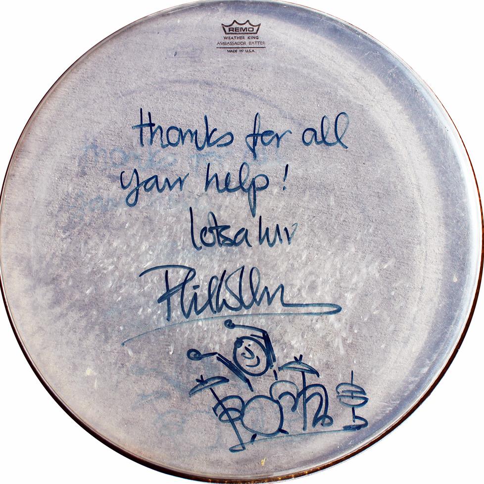 Drumhead - Phil Collins