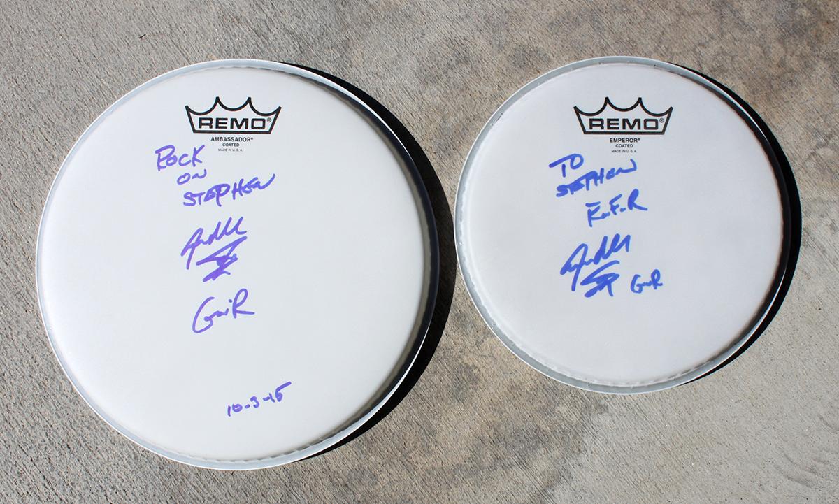 Steven Adler - Drumhead #2