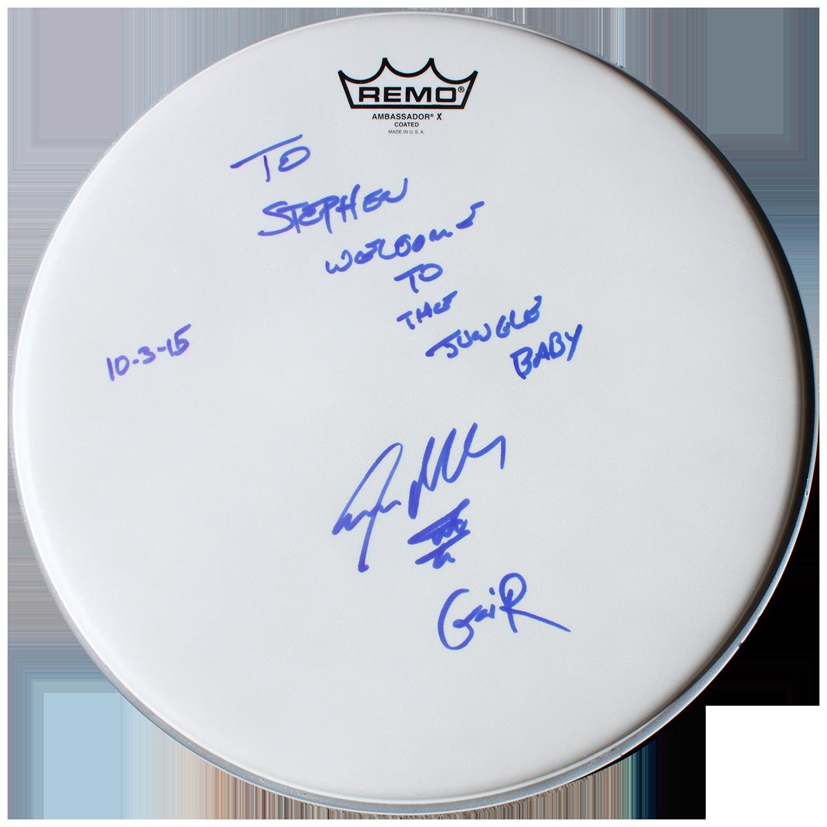 Steven Adler - Drumhead #1