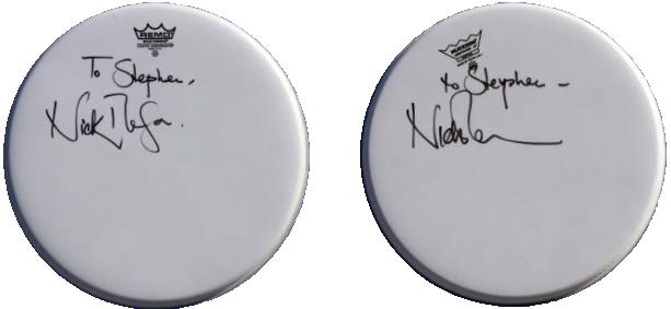 Nick Mason - Drumheads