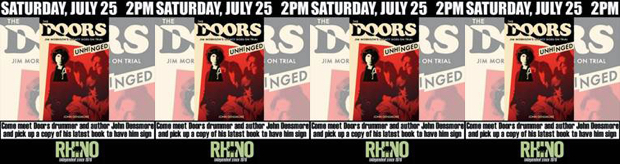 Header - Doors Rhino Records