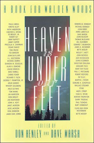 Don Henley Book - Heaven is Under Our Feet #1a