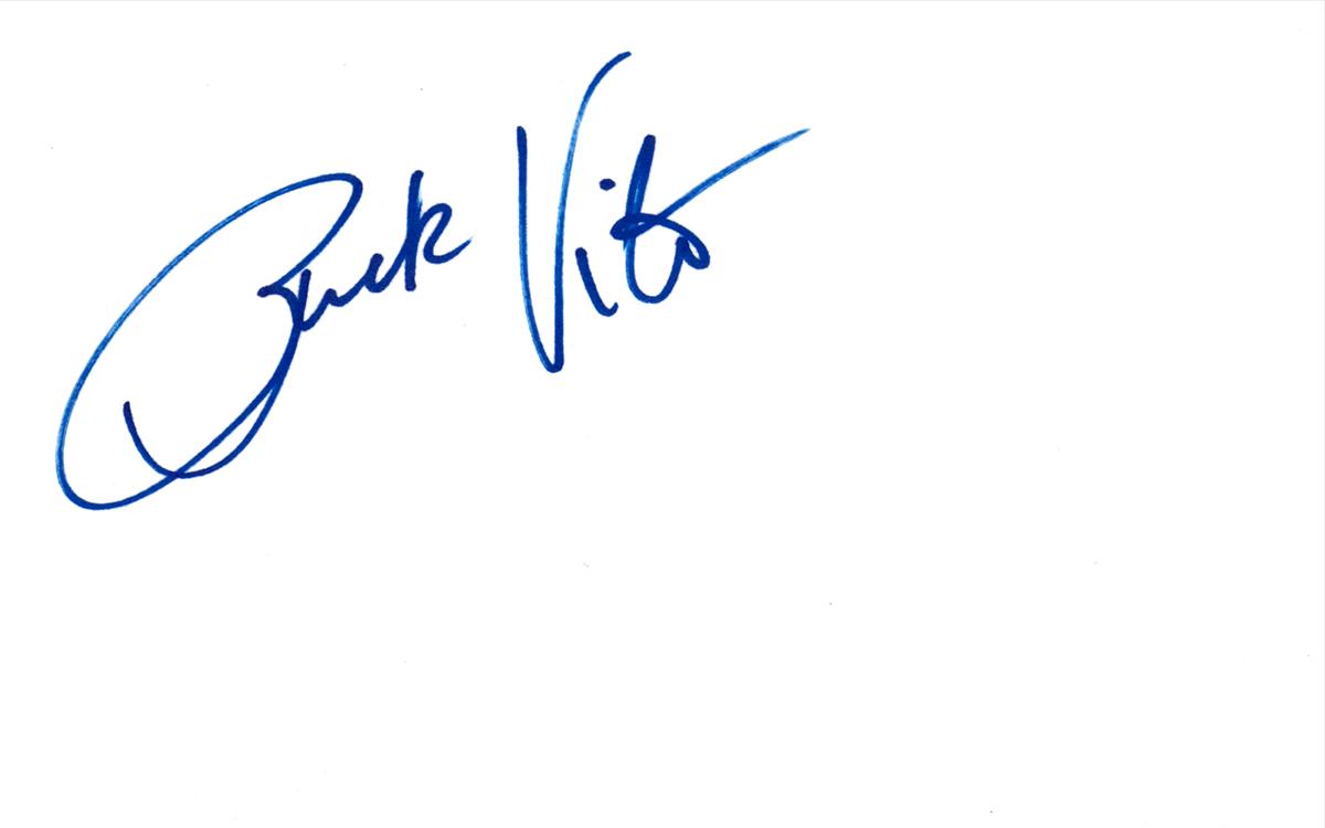 Rick Vito Index Card #2