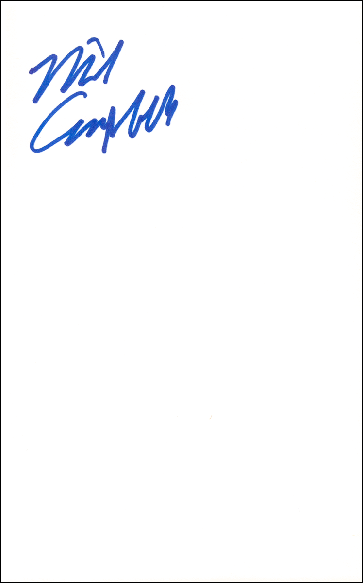 Mike Campbell - Index Card #1