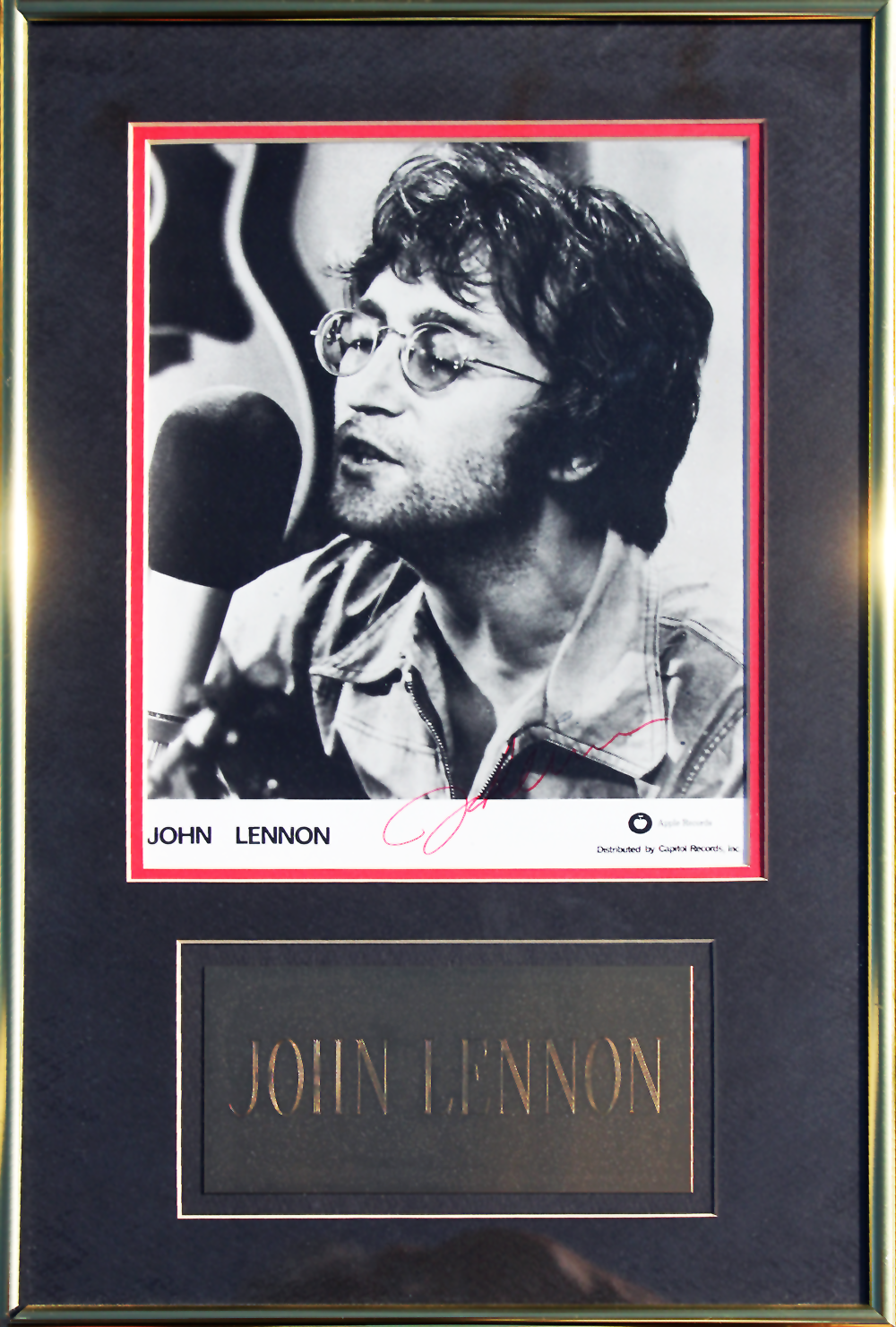 Framed Photo - John Lennon