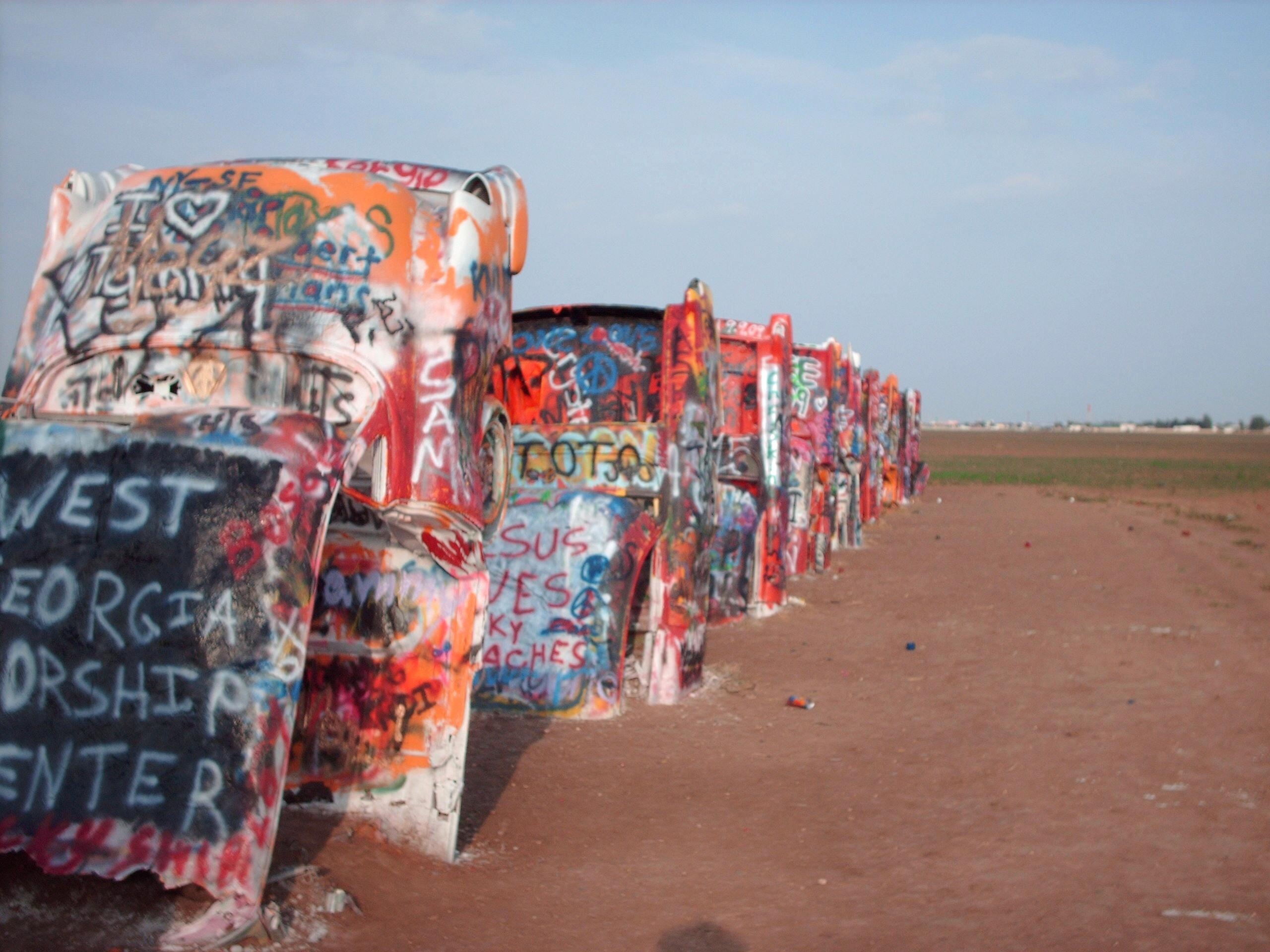 Cadillac Ranch #4