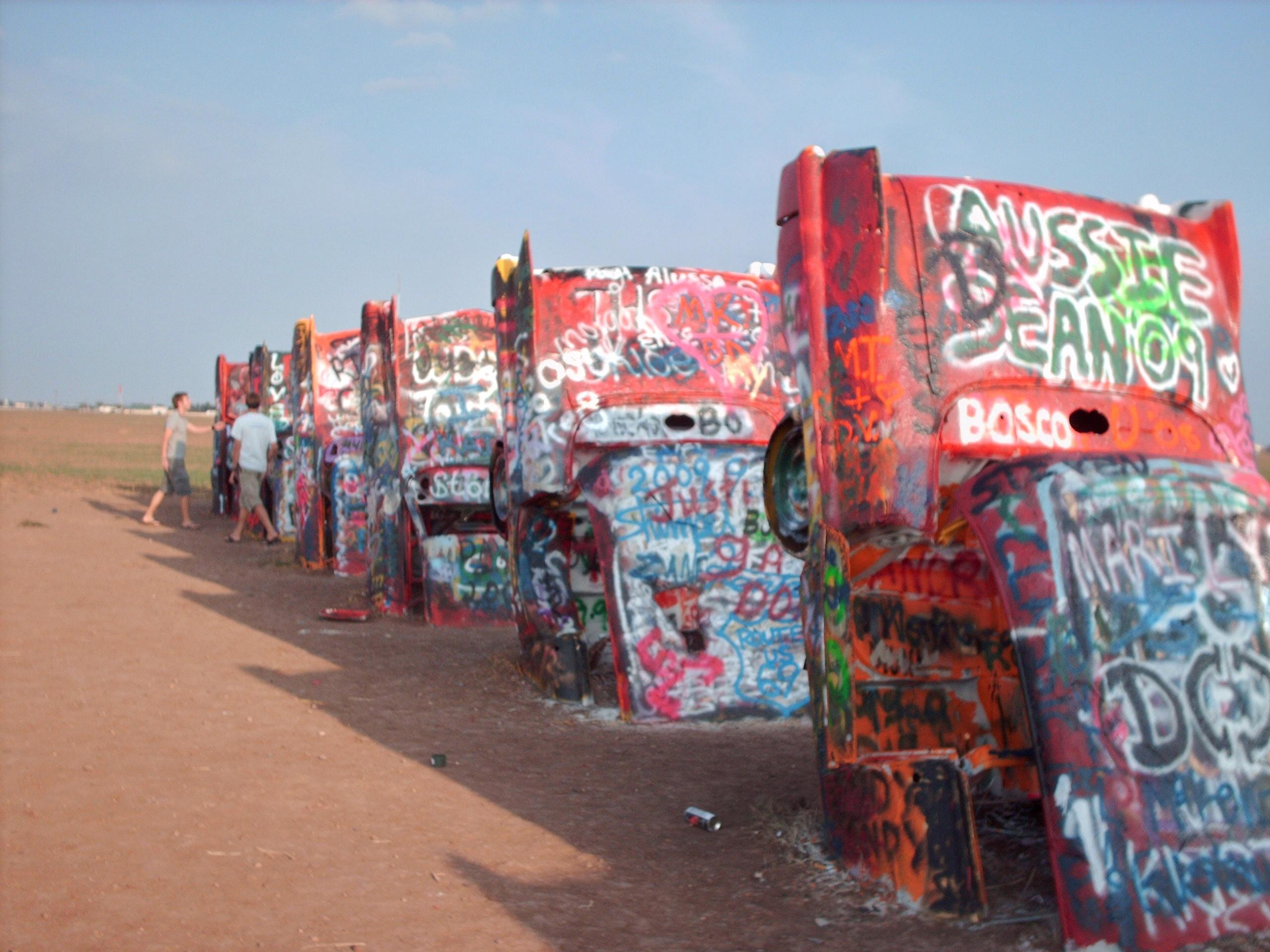 Cadillac Ranch #6