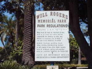 Will Rogers Memorial Park #1