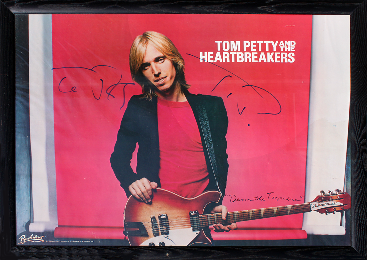 Tom Petty LP - Framed