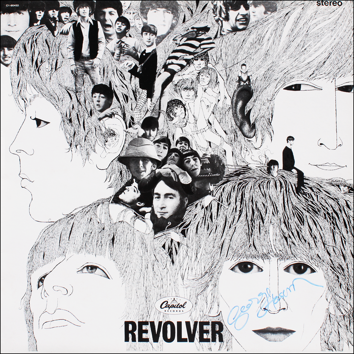 LP - Beatles - George Harrison - Revolver