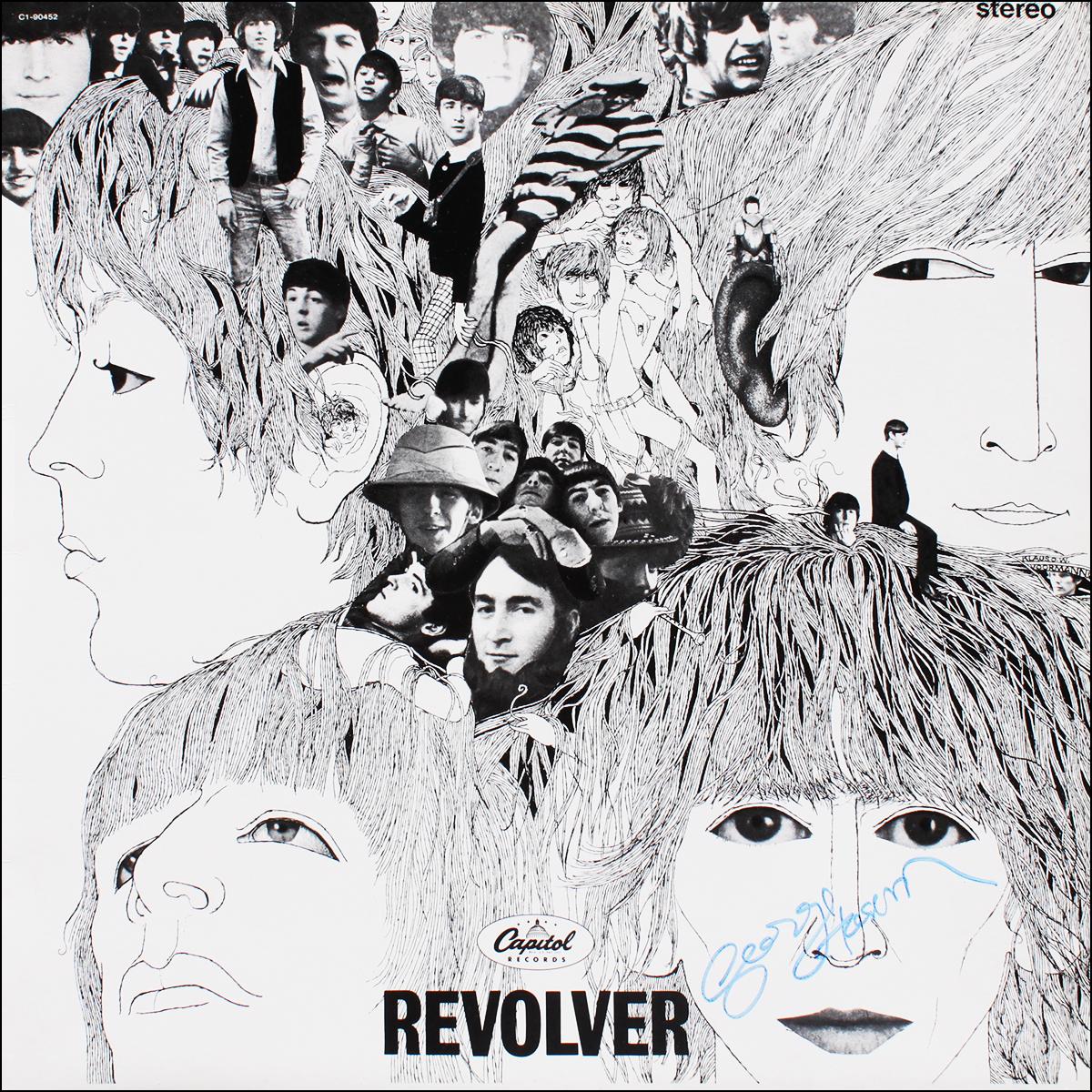 LP - Beatles - George Harrison - Revolver