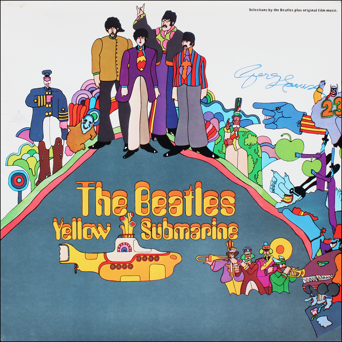 LP - Beatles - George Harrison - Yellow Submarine