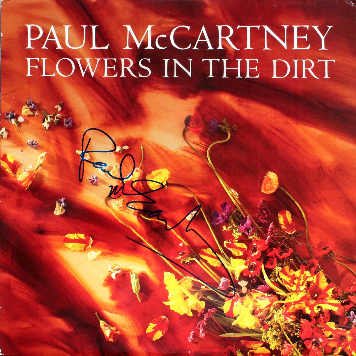 LP - Paul McCartney - Flowers In The Dirt