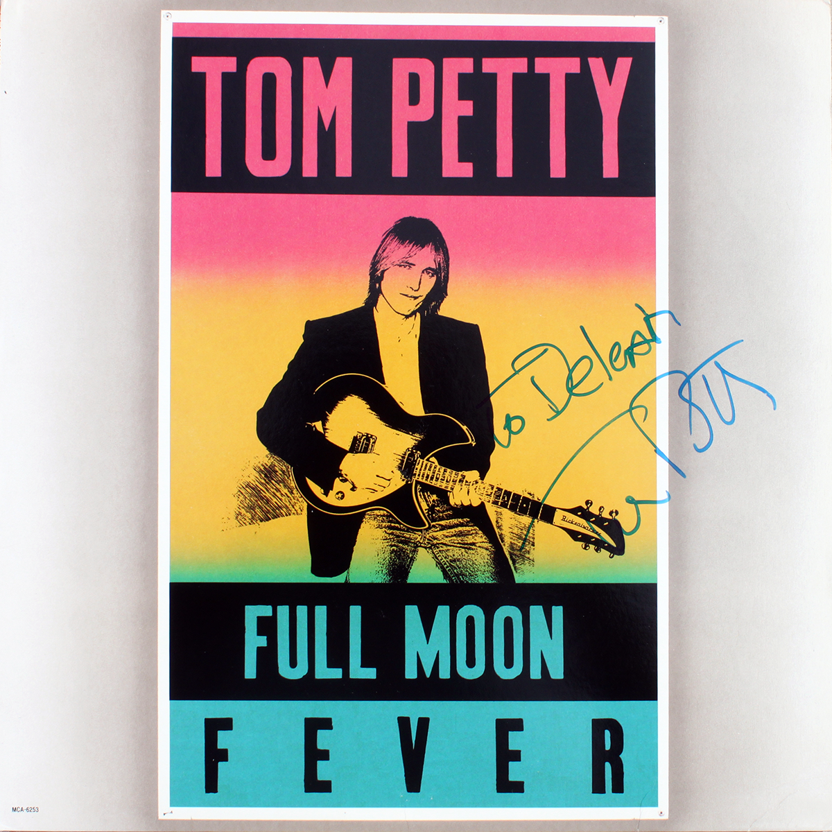 Tom Petty - Full Moon Fever LP #2