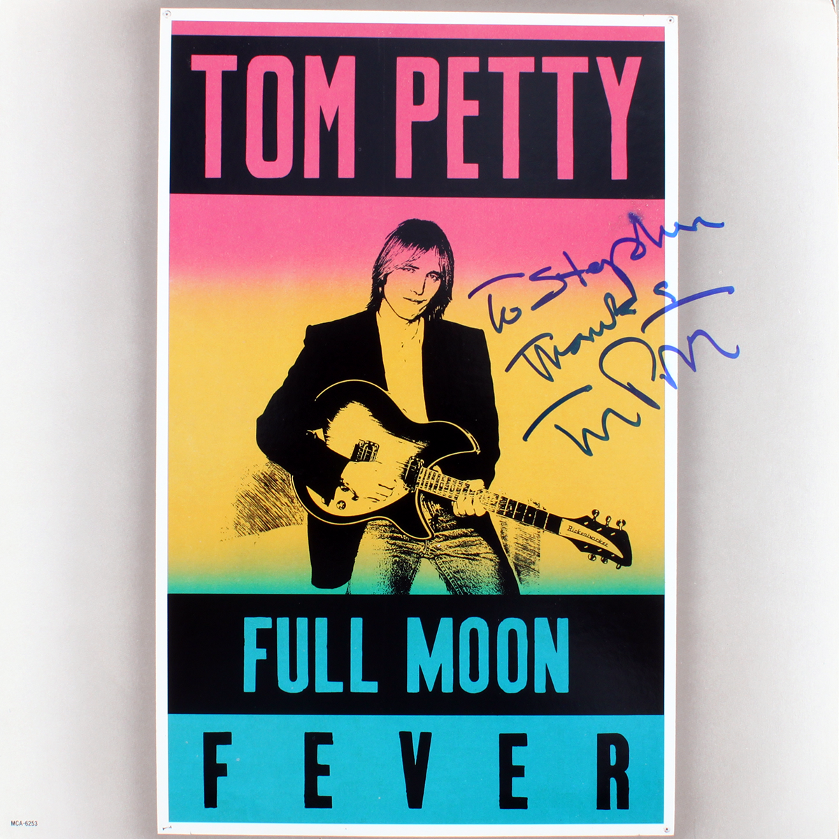 Tom Petty - Full Moon Fever LP #3