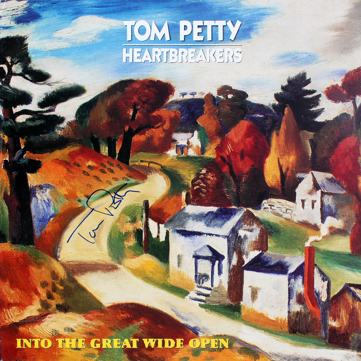 Tom Petty LP - Into The Great Wide Open #1