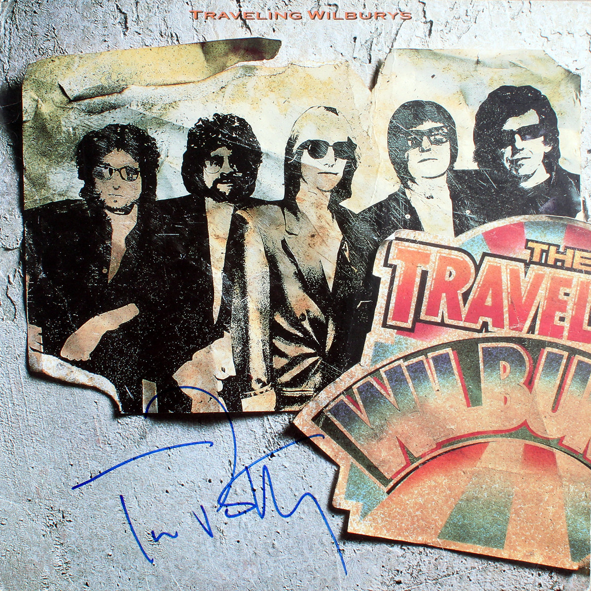 Traveling Wilburys LP #1
