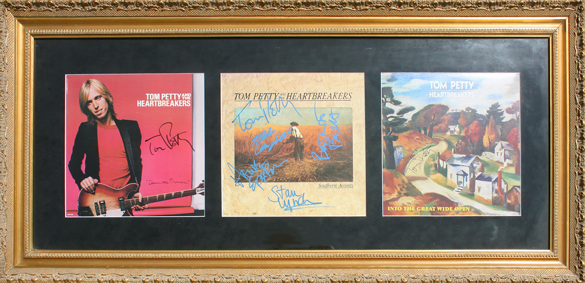 Tom Petty - Framed LPs