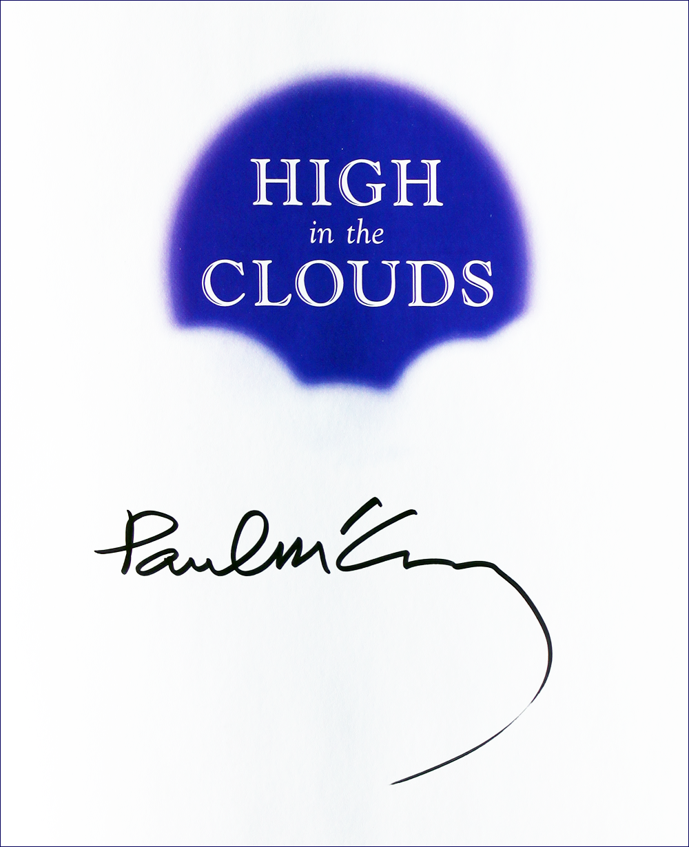 Book - High in the Clouds - Paul McCartney - Inside #1