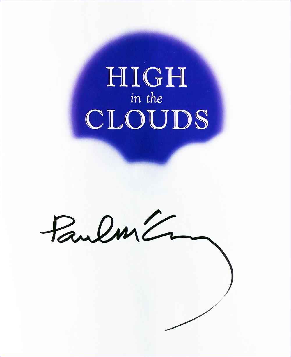 Book - High in the Clouds - Paul McCartney - Inside #1