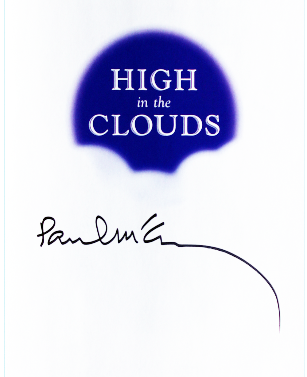 Book - High in the Clouds - Paul McCartney - Inside #2