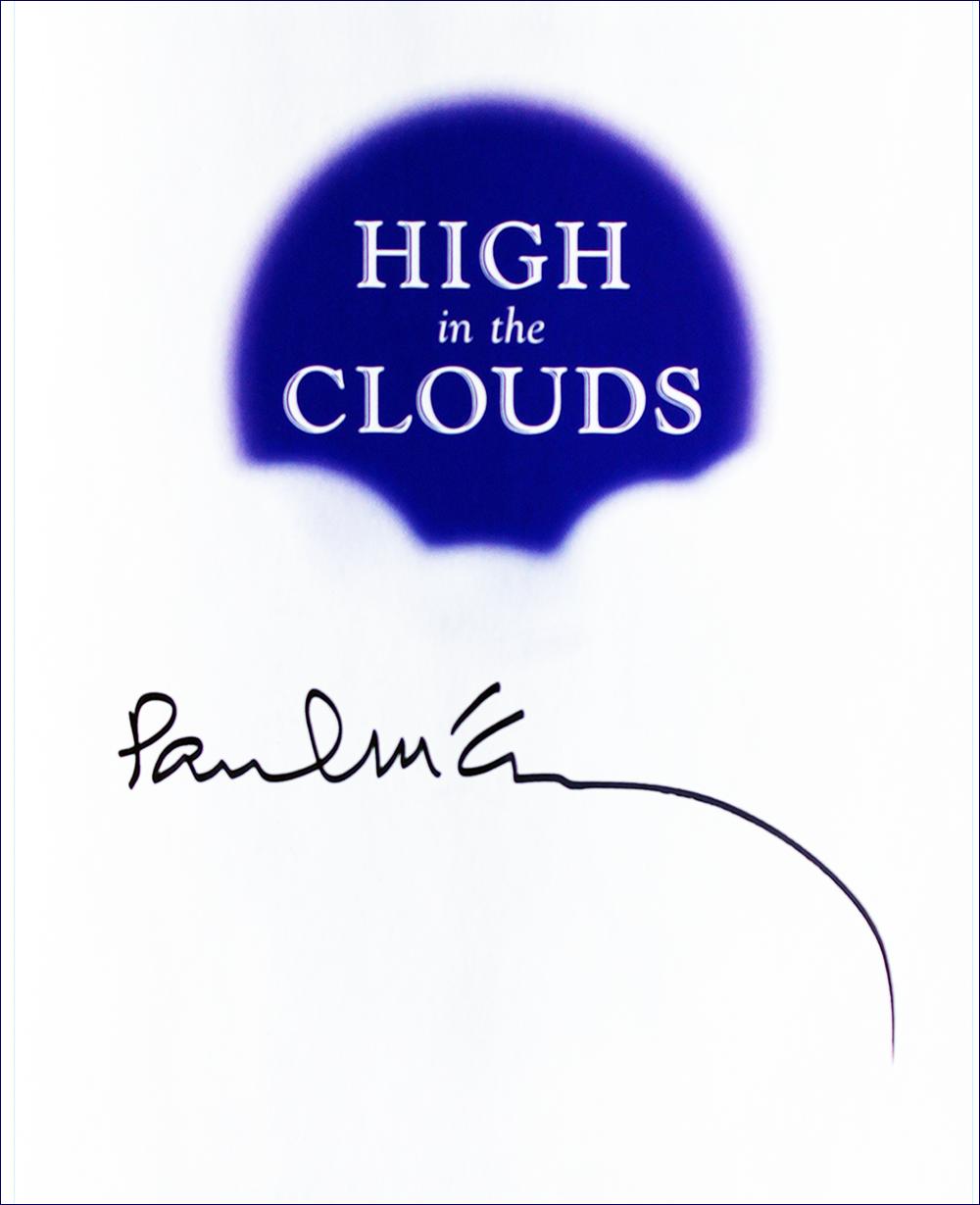 Book - High in the Clouds - Paul McCartney - Inside #2